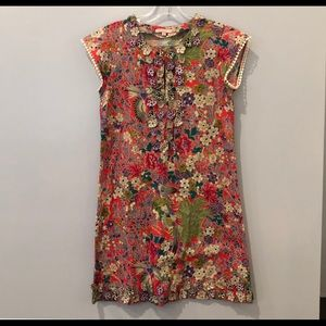 Calypso Pink/Red Floral Dress (xs)